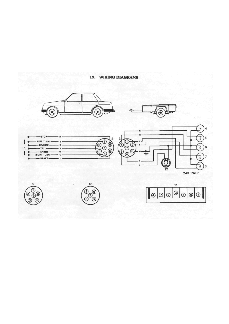 Nissan Pulsar N13 Series Astra Ld Manual Part 54 Wiring Diagram Grommet Key 218