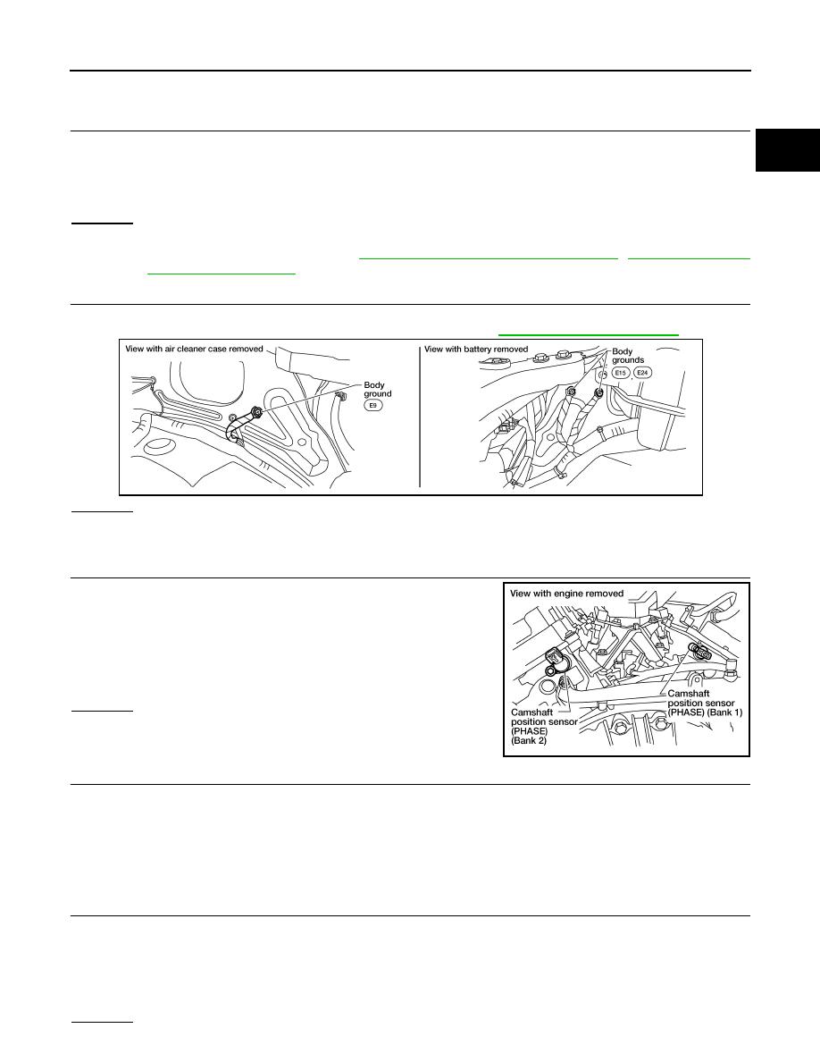 Nissan Xterra Camshaft Position Sensor Bank 1