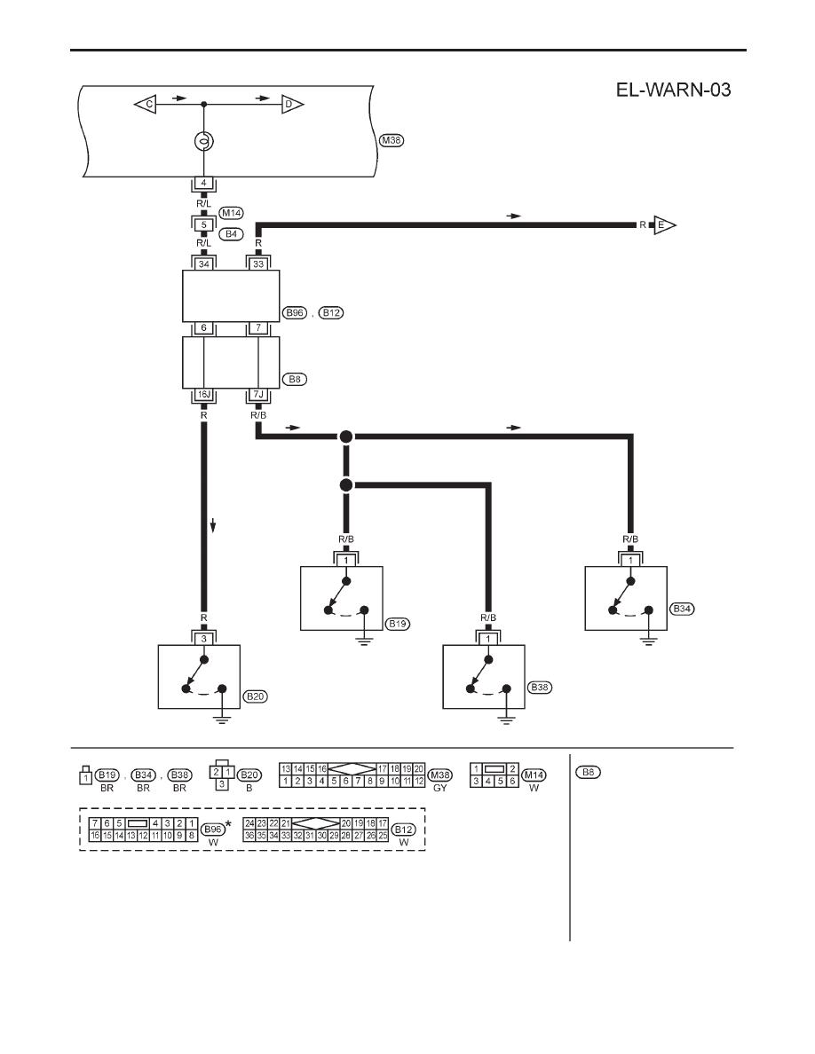 Nissan Primera P11 Manual Part 325 B12 Fuse Box Yel169c