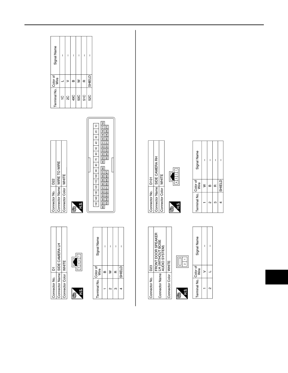 Nissan Leaf Manual Part 37 Side Camera Wiring Diagram
