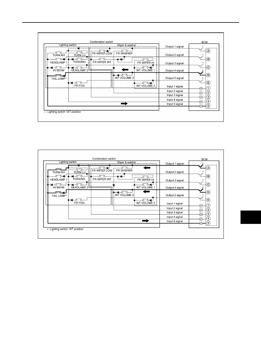 Nissan Sentra Service Manual: Rear window defogger switch does not light, but rear window defogger operates