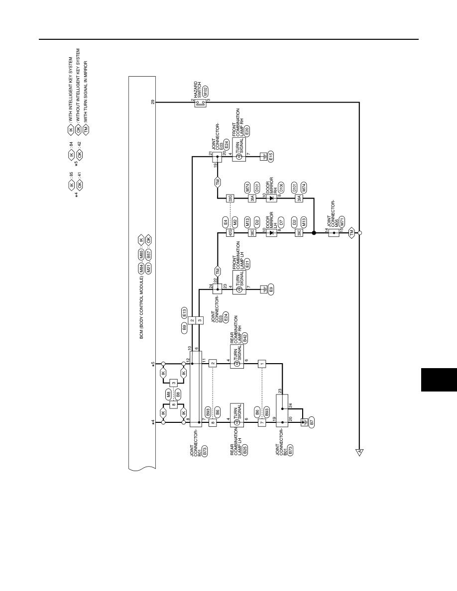 Nissan Sentra Manual Part 464 E24 Wiring Diagrams