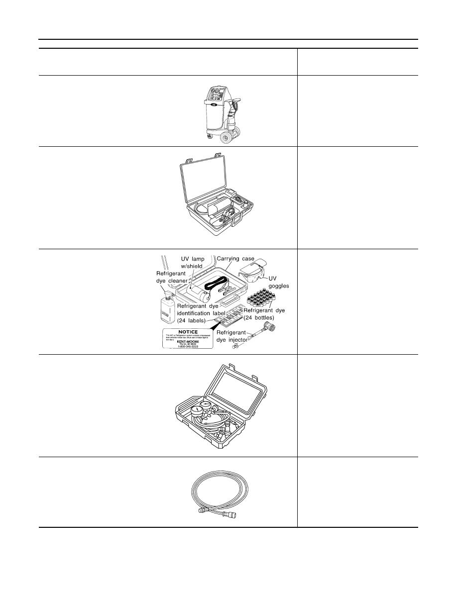 Nissan Sentra Service Manual: Preparation