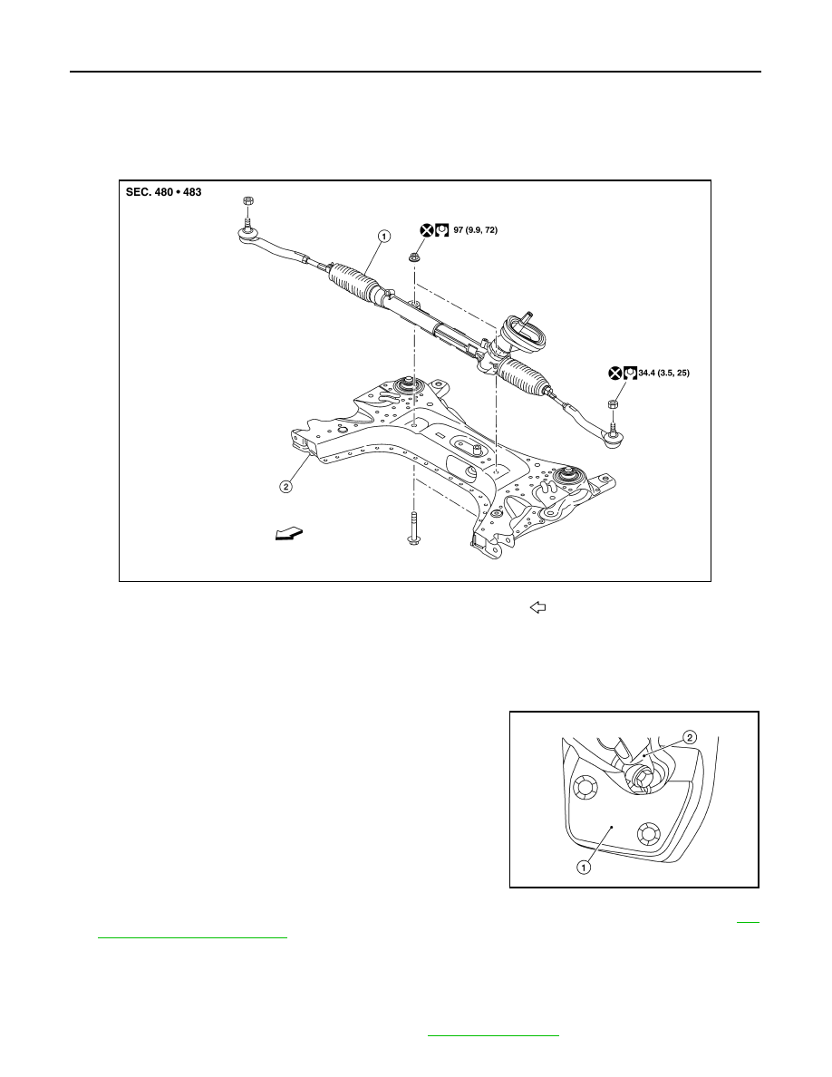 Nissan Sentra Service Manual: Unit disassembly and assembly