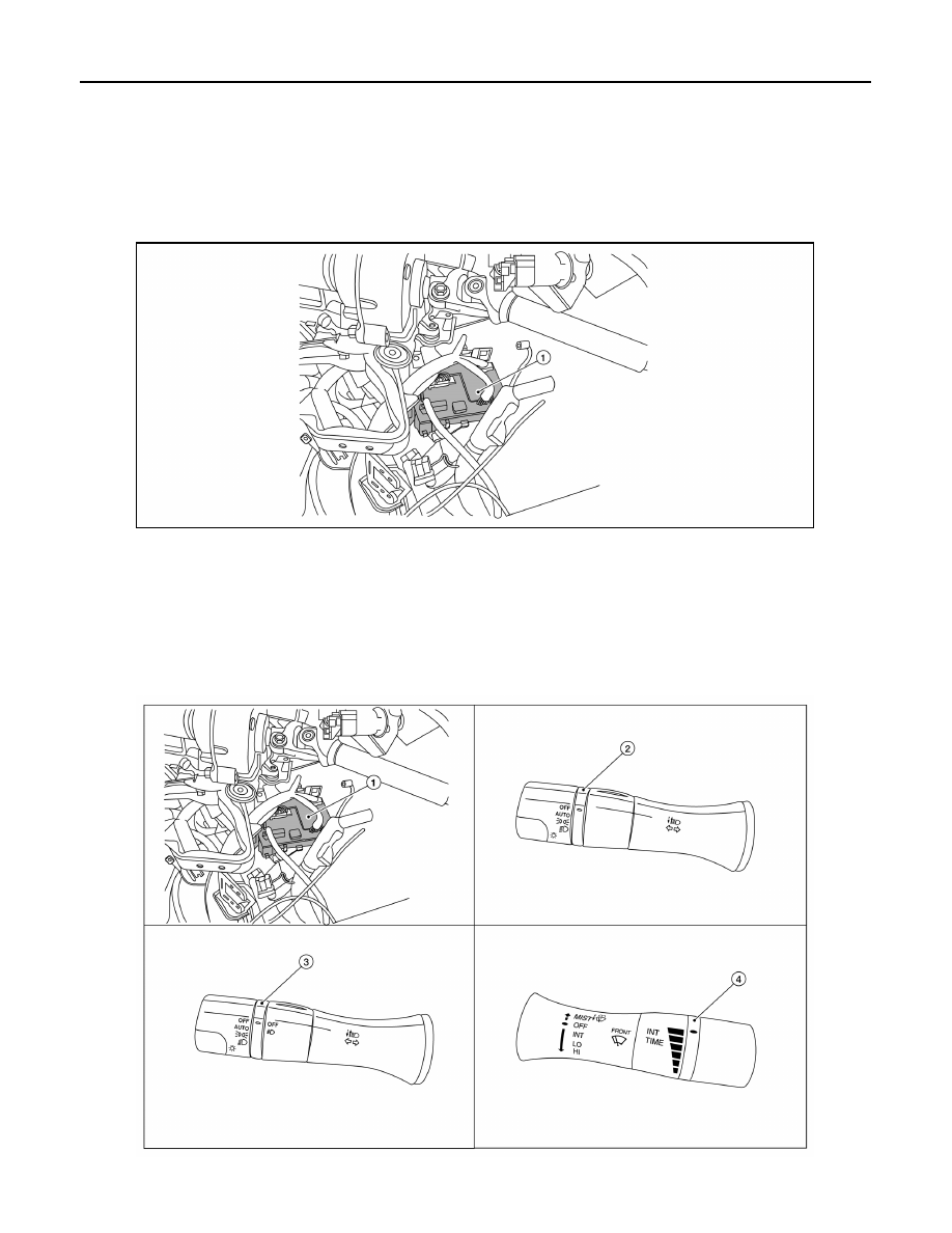Nissan Sentra Service Manual: Washer switch
