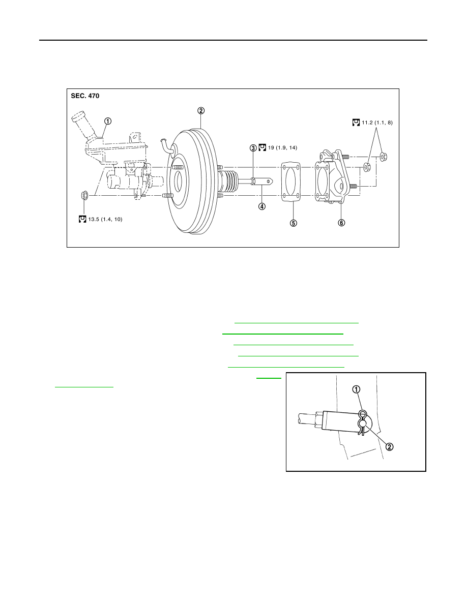 Nissan Sentra Service Manual: Air cleaner and air duct