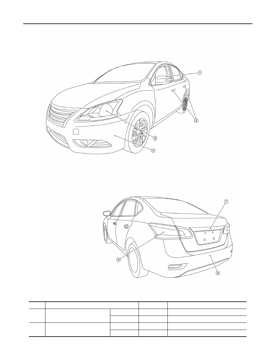 Nissan Sentra Service Manual: Precaution for Supplemental Restraint System (SRS) AIR BAG and SEAT BELT PRE-TENSIONER