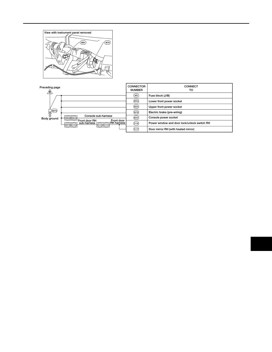 Nissan Frontier Manual Part 1053 Trailer Brake Wiring Diagram Pg