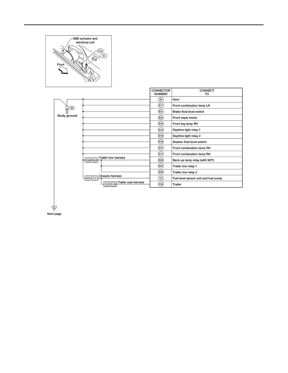Nissan Frontier Manual Part 1053 Trailer Brake Wiring Diagram Pg 30