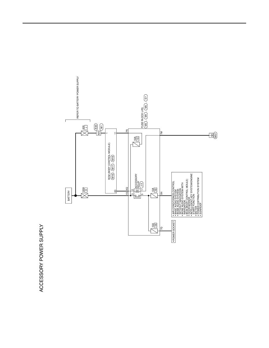 1998 Nissan Altima Control Fuse Box Diagram