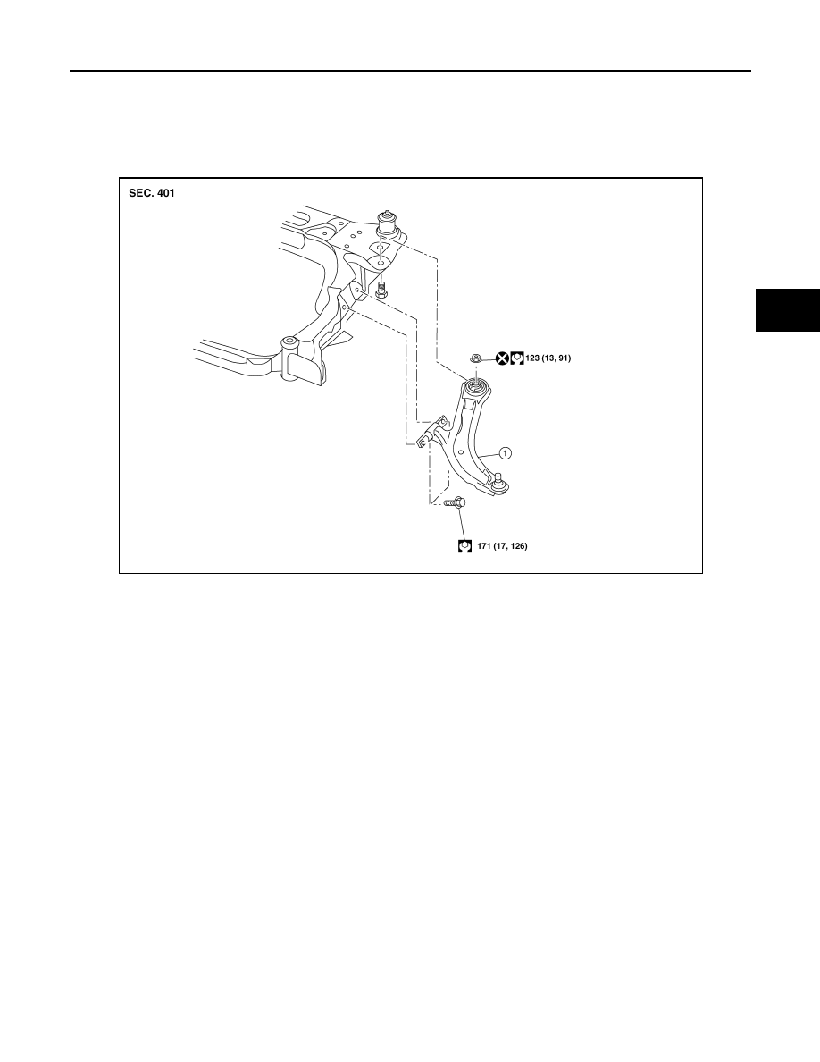 Nissan Rogue Service Manual: Steering gear and linkage