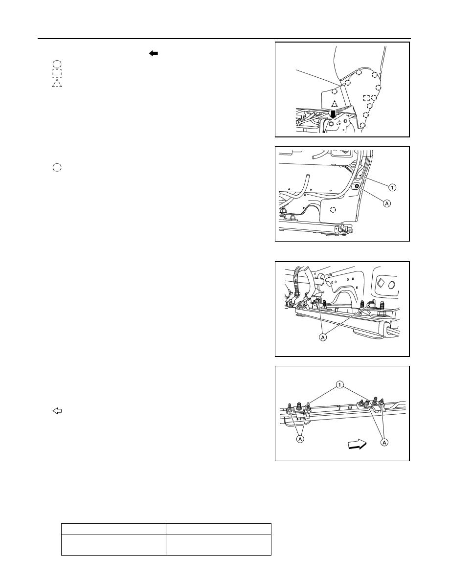 Nissan Rogue Service Manual: Driver air bag module