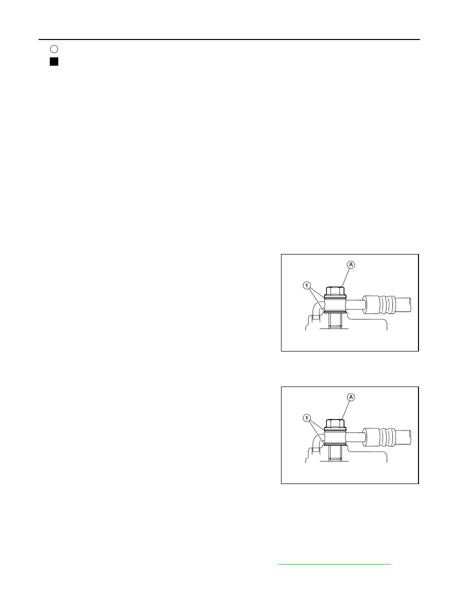 Nissan Rogue Service Manual: Water hose