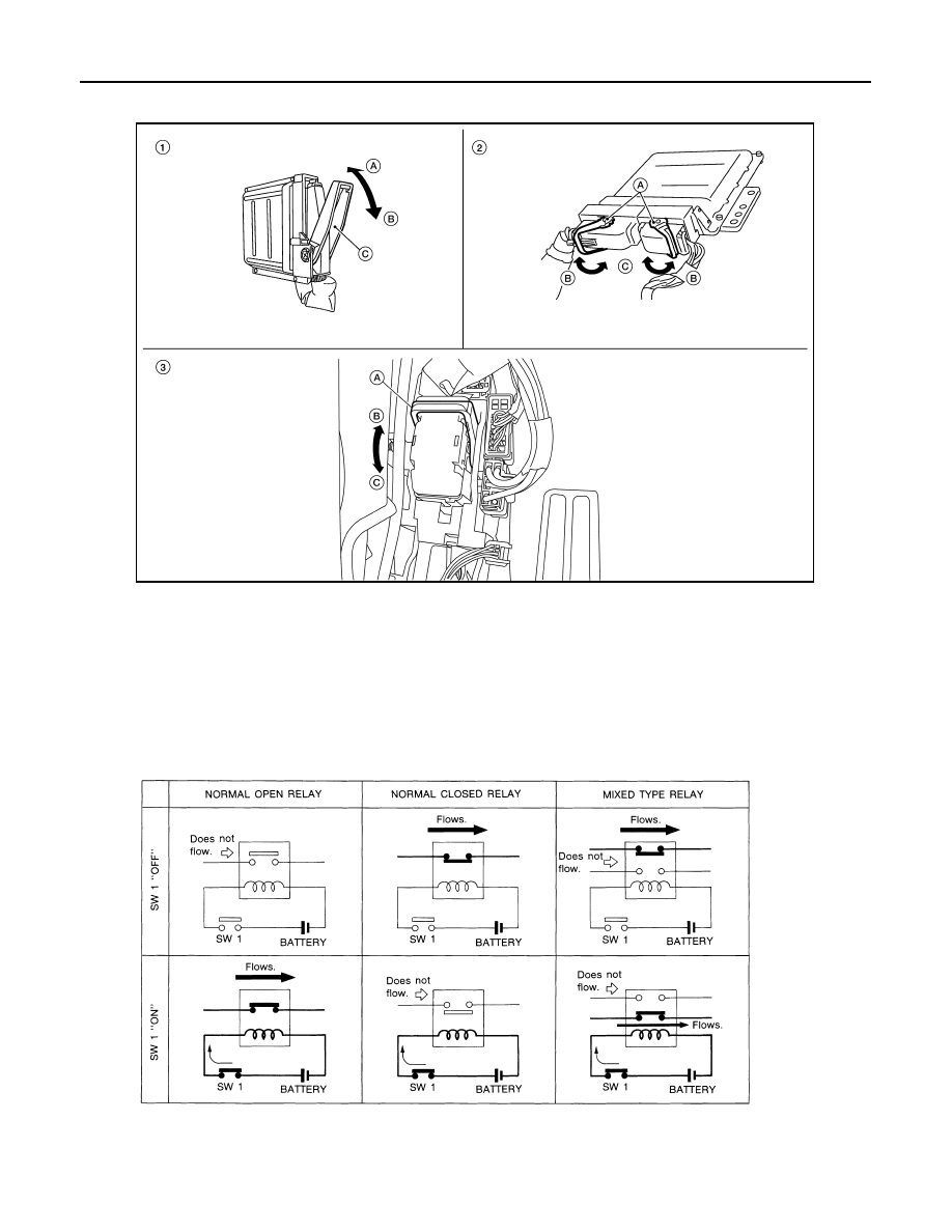 Nissan Quest E52 Manual Part 947 Normally Open Relay Diagram