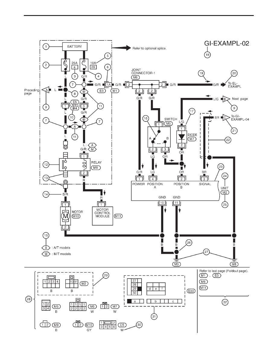 Ziemlich 1994 5 Nissan Infiniti Schaltpläne Ideen - Elektrische ...
