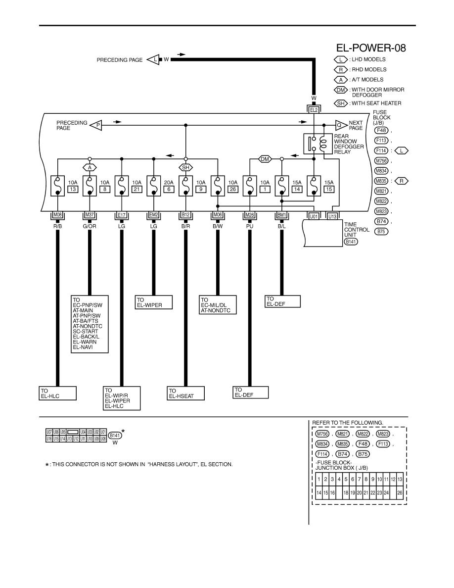 wiring diagram nissan terrano ii    nissan       terrano    r20e manual part 208     nissan       terrano    r20e manual part 208