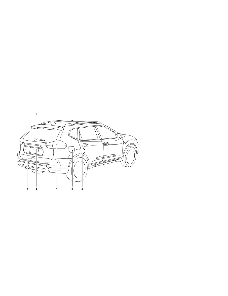 nissan rogue  2019 year   instruction