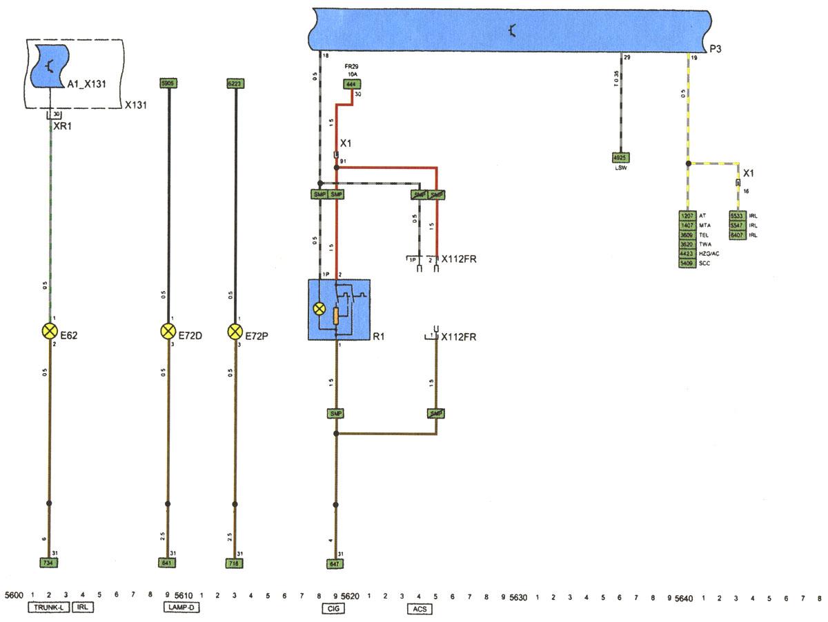 Схема электропроводки опель астра 2008