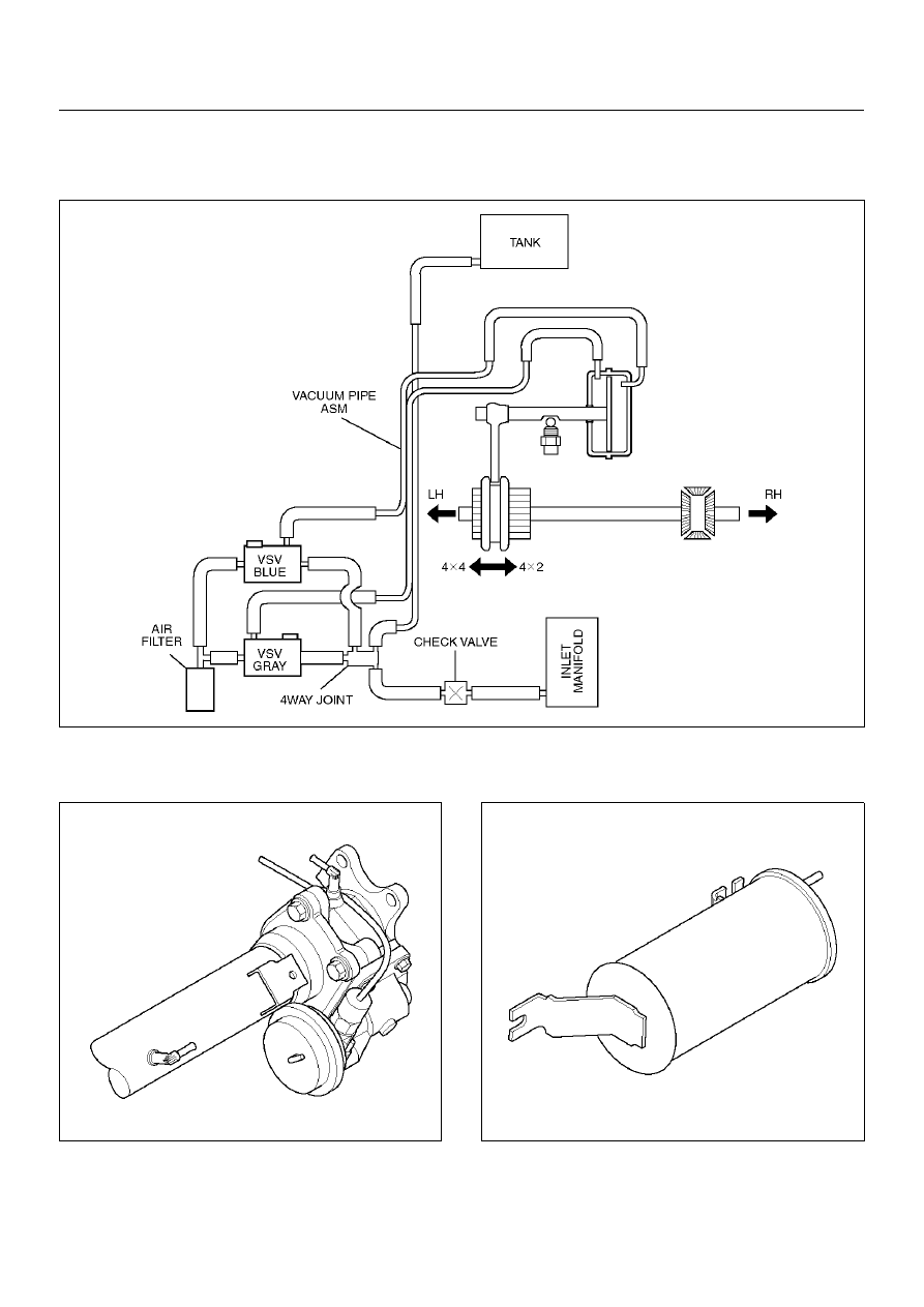[SCHEMATICS_44OR]  Opel Frontera UE. Manual - part 694 | Opel Vacuum Diagram |  | Zinref.ru