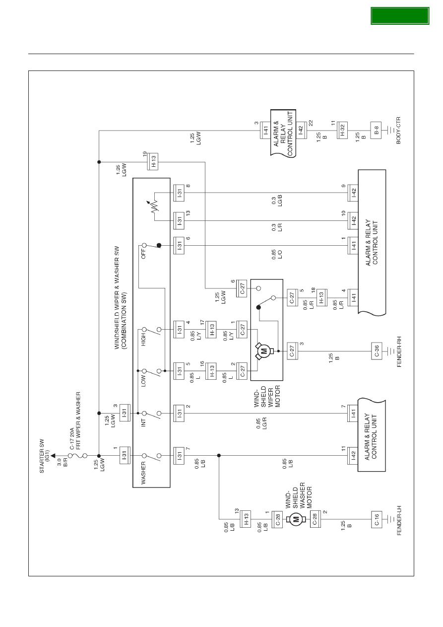 Opel Frontera Ue Manual Part 1676 B Wiring Diagram 8d136 System Circuit