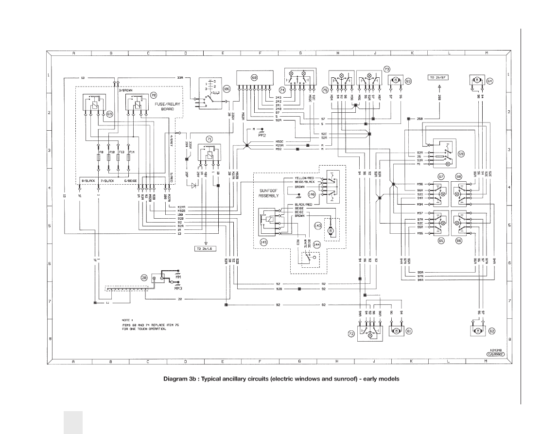 Peugeot 405 Manual Part 65 Wiring Diagrams 1239
