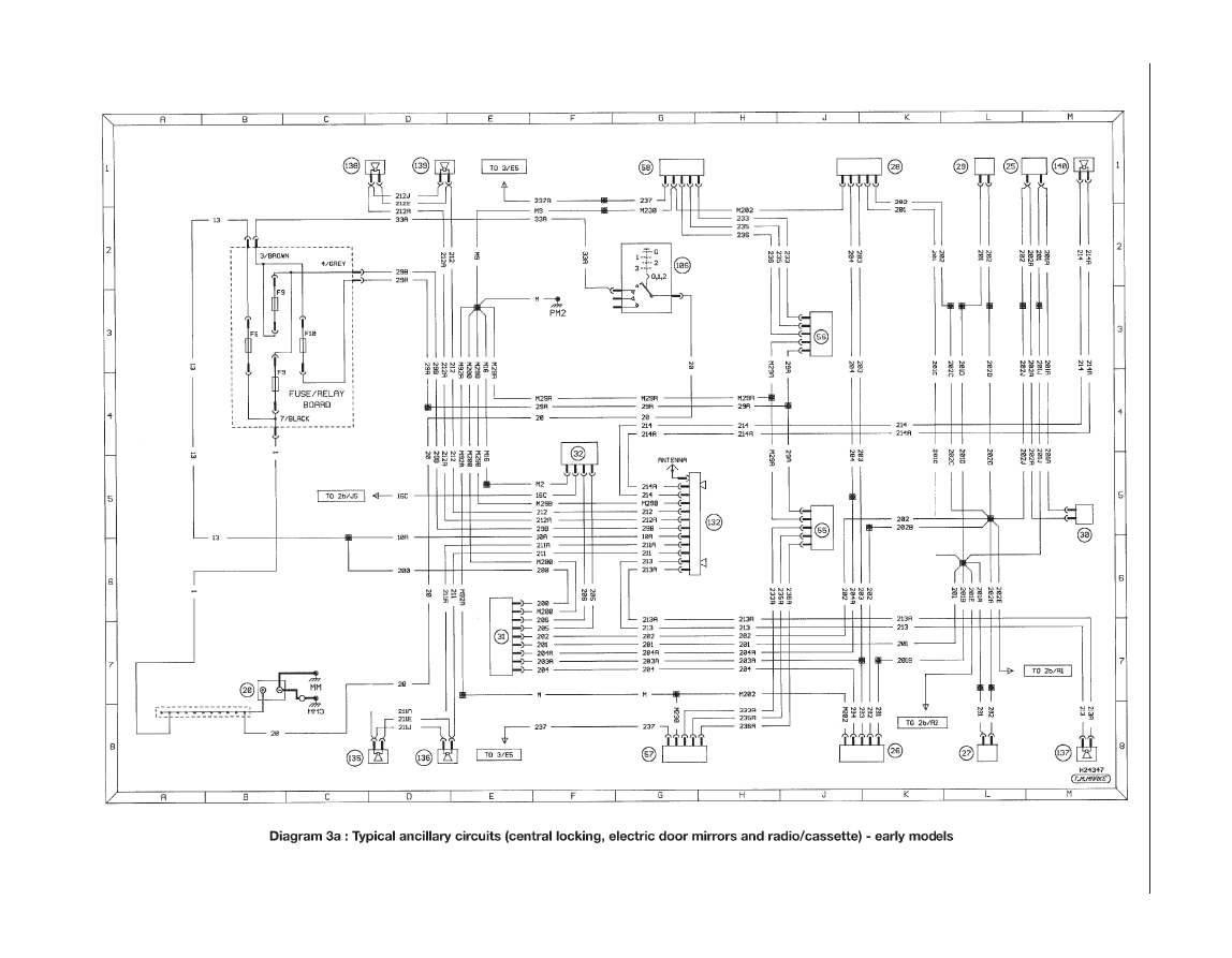 Diagram  Peugeot 405 Haynes Wiring Diagram Full Version