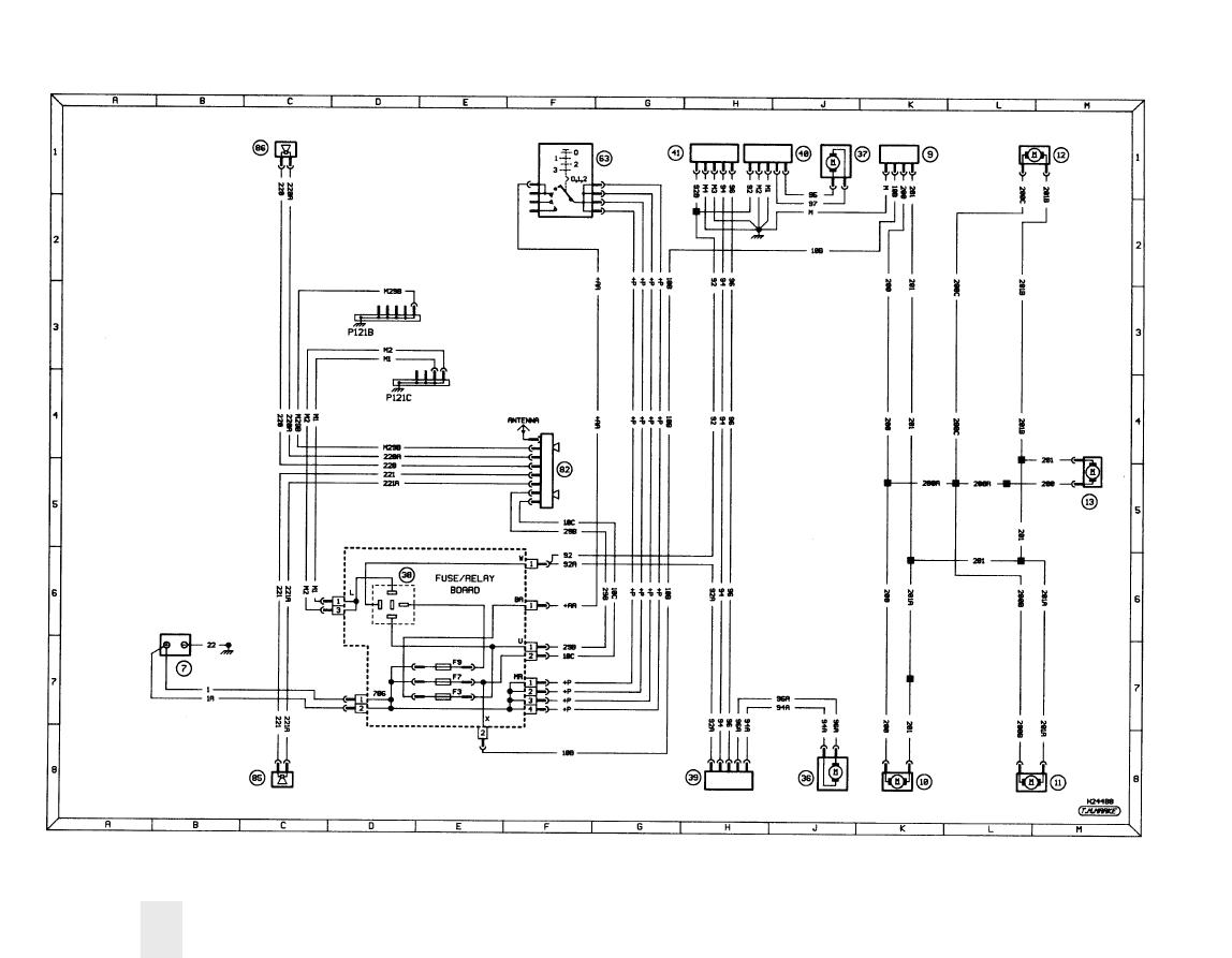 peugeot 205 (954 cc, 1124 cc, 1360 cc, 1580 cc \u0026 1905 cc) manualwiring diagrams 12\u2022