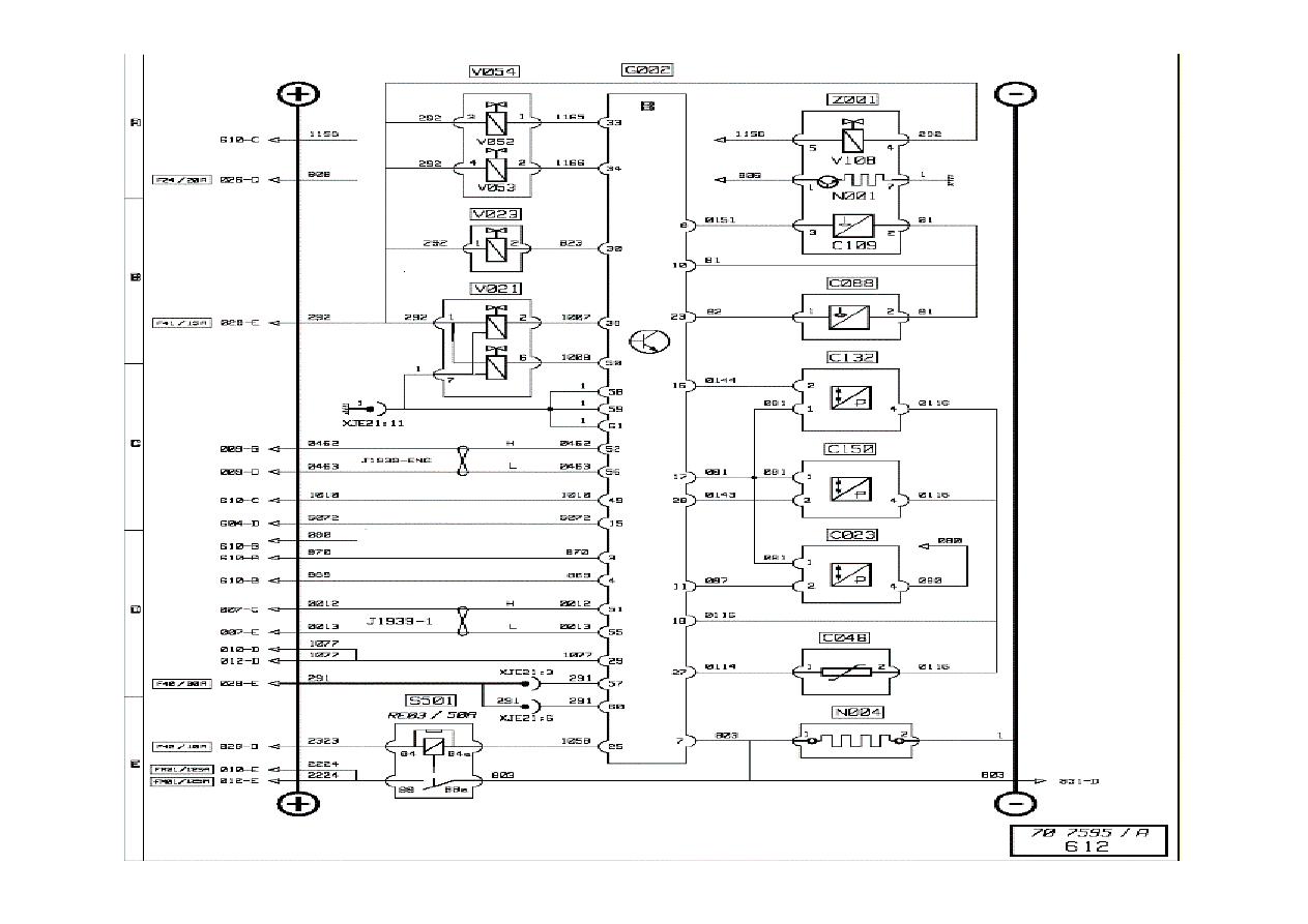 Renault Premium Engine Manual Part 81 Cooling Diagram 2