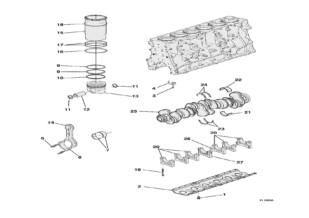 Renault Magnum Engine Manual Part 13 Diagrams