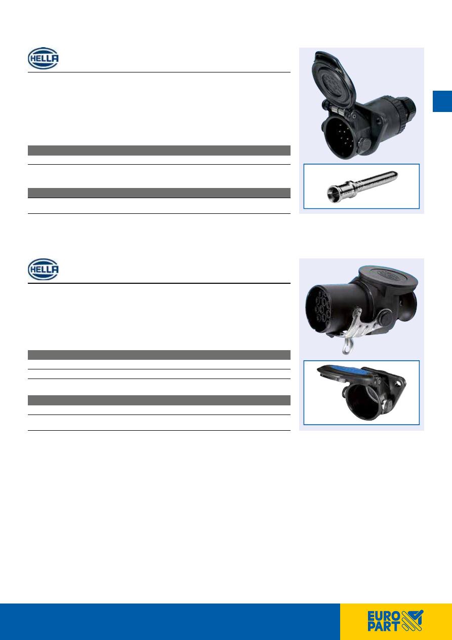 HELLA 8HG 007 647-001 Parking Socket