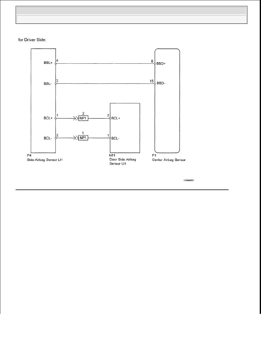 Toyota Tundra Manual Part 2579 M11 Wiring Diagram 79 Identifying Side Rear Airbag Sensor Circuit Malfunction Driver Courtesy Of Motor Sales Usa Inc