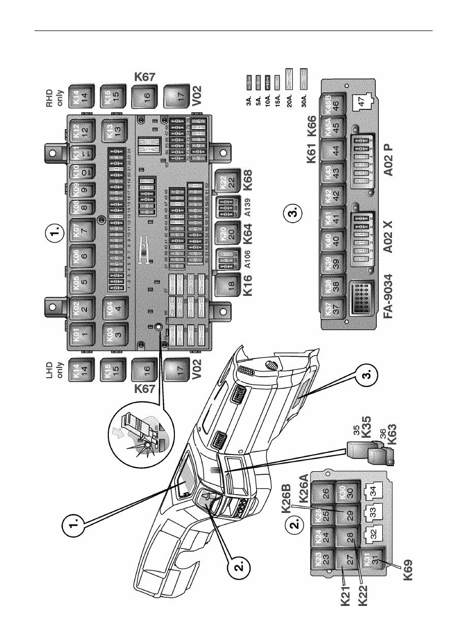 Volvo Trucks FM Electrical system Manual - part 57 | Volvo Truck Air Horn Wiring Diagram |  | Zinref.ru
