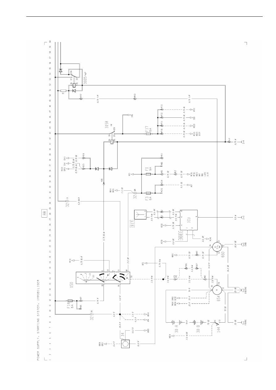 Volvo Trucks FH12, FH16 LHD Electrical system. Manual - part 2 | Volvo Fh16 Wiring Diagram |  | Zinref.ru